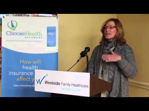 Secretary Langraf—Delaware Health Insurance Marketplace Press Event