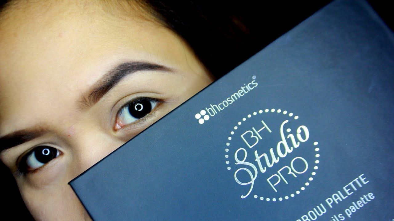 BH COSMETICS STUDIO PRO BROW palette review l TUTORIAL - YouTube