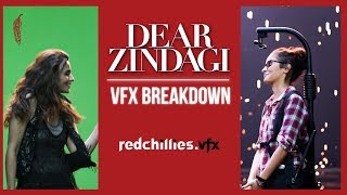Dear Zindagi VFX breakdown - RedChillies.vfx
