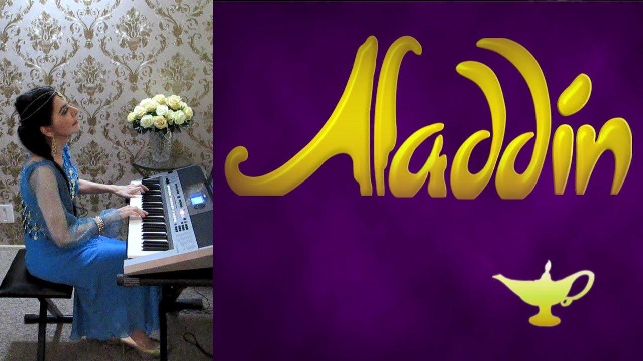 Tema do Filme Aladdin (Disney) Teclado/Piano