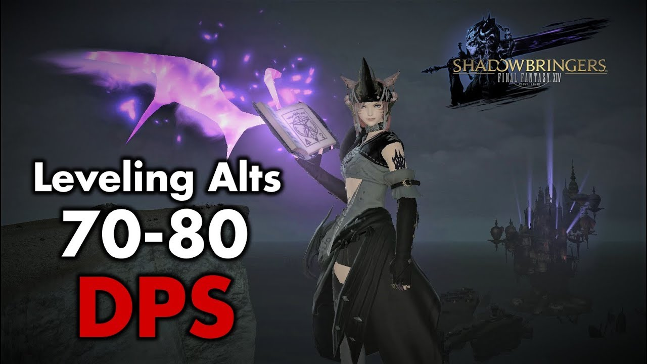 FFXIV - Shadowbringers - Leveling Alt jobs (Level 70-80 - DPS version)