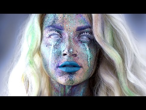 Avant Garde Splatter Makeup Tutorial