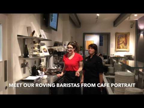 Roving Baristas from Cafe Portrait within Scottish National Portrait Gallery, Edinburgh