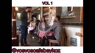 VOSVOS CAFE BEYKOZ- VOSVOSLANDIN VOL:1 (Böyle hızlı servis daha önce gördünüz mü?)