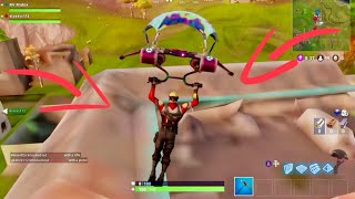 Fortnite Map Glitch | Map can't load the textures and Underground glitch !!!