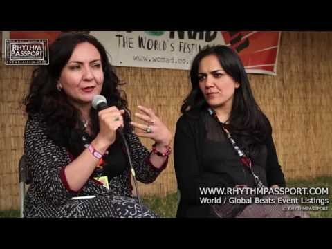 Rhythm Passport - Interview with Mahsa & Marjan Vahdat at Womad 2014