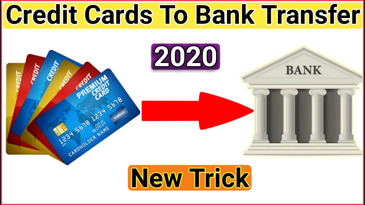 Credit card to bank account Transfer, Credit card to Bank transfer - YouTube