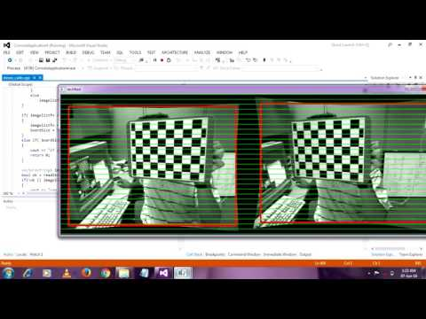 stereo camera calibration opencv  with source code # part 2