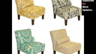 Slipper Chairs : Living Room Chairs Tan Linen Slipper Chair Collection