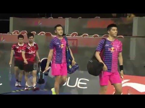 OUE Singapore Open 2016 | Badminton QF M5-MD | Fu/Zhang vs Fer/Suk