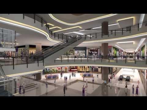 Várzea Grande Shopping -  Maquete eletrônica