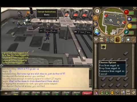 Runescape smithing guide 2013.