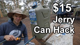 $15 Water Jerry Can Hack