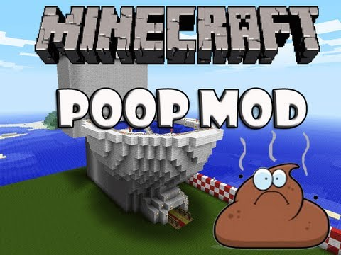 Minecraft Poop Mod YouTube - Minecraft grobe hauser download