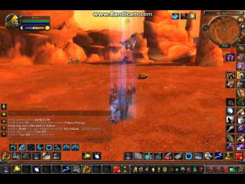 WoW MoP - New druid moonkin form astral (glyph of the stars) - YouTube