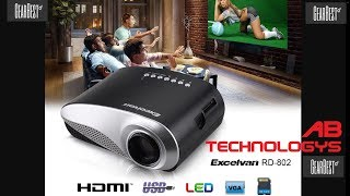 Excelvan RD-802 Mini Led Projector
