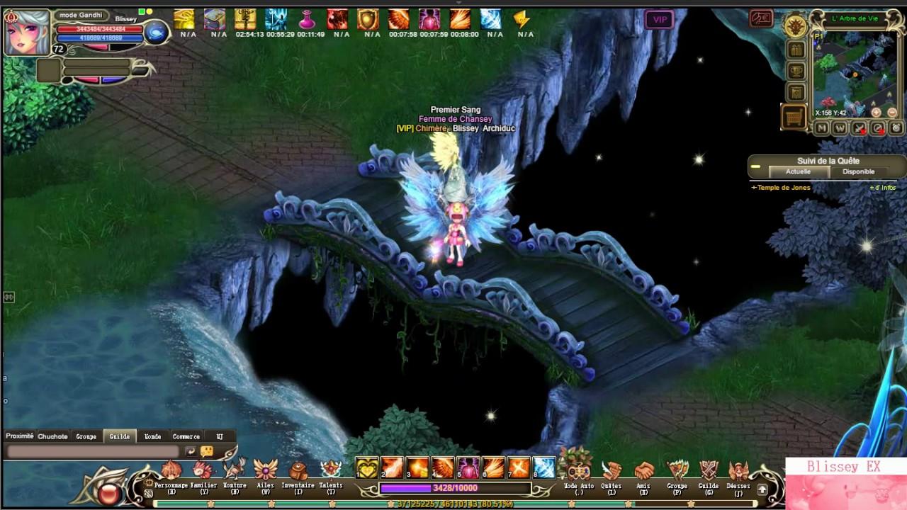 Crystal Saga II Celestial Sky Ring Dungeon - YouTube