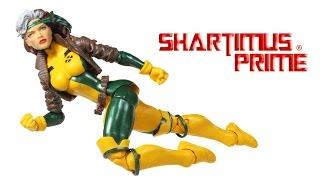 Marvel Legends Rogue Jim Lee Style Juggernaut BAF 2016 X-Men Wave Toy Action Figure Review