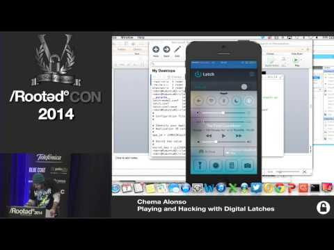 Chema Alonso - Playing and Hacking with Digital Latches [Rooted CON 2014]