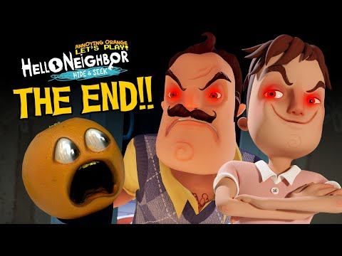 THE END!!! | Hello Neighbor - Hide and Seek #11 |
