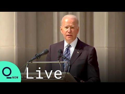 LIVE: Biden speaks at funeral for former Sen. John Warner