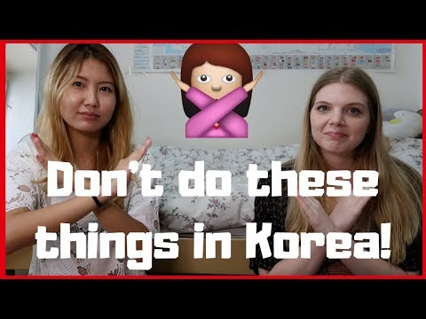 Things foreigners SHOULDN'T do in Korea | How to avoid being rude!