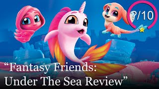 Fantasy Friends: Under The Sea Review [PS4, Switch, & PC] (Video Game Video Review)