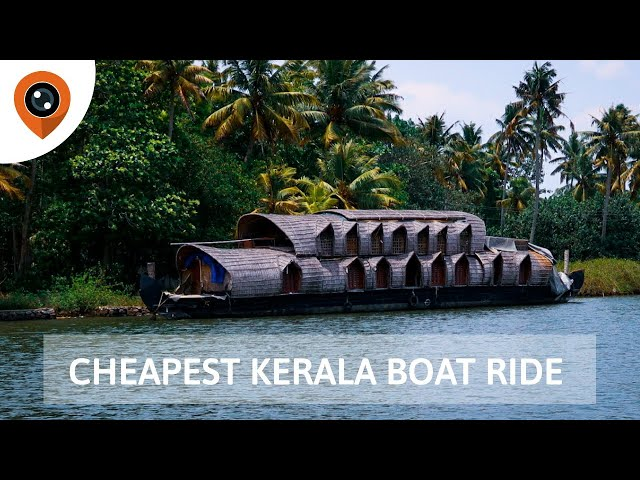 Cheapest Kerala Boat Ride Experience | Kollam to Alappuzha (Alleppey ) | Things to do in Kollam