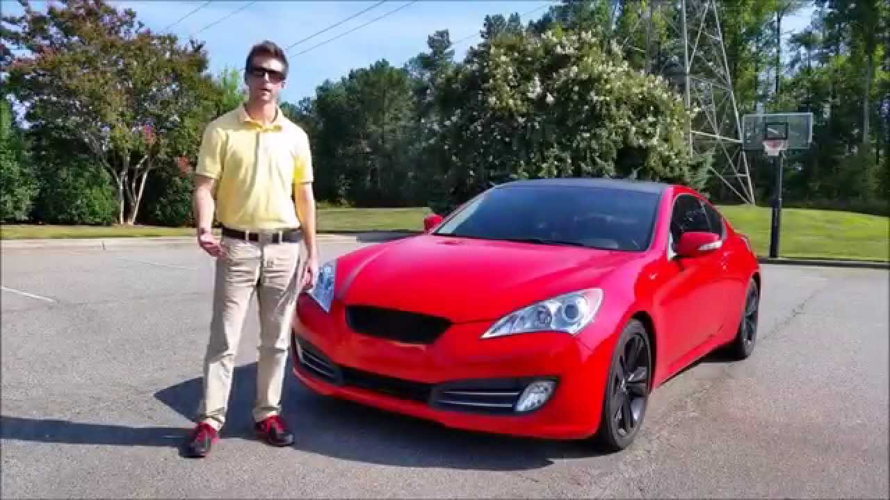 2011 Hyundai Genesis Coupe 3.8 Grand Touring: Start Up, Exhaust And Review    YouTube