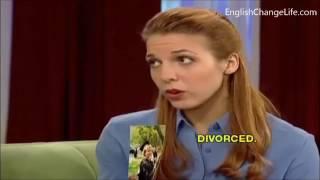 Сериал на английском с субтитрами.  English conversation Part 1.