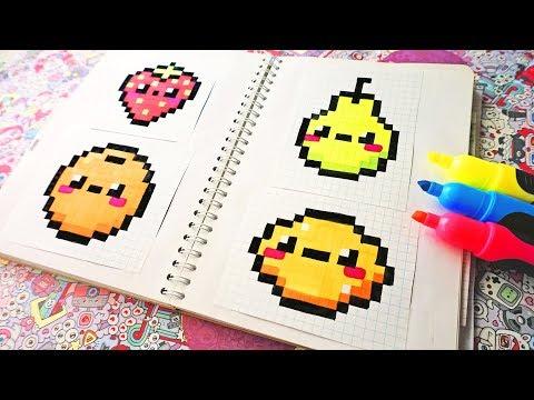 Sketchbook Pixel Art - Handmade Pixel Art  #pixelart