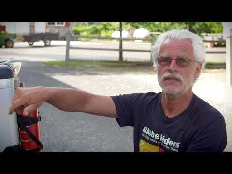 Helge Pedersen Talks Touratech Zega Pro Panniers