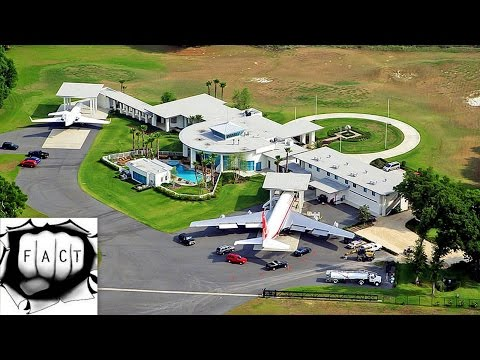 Top 10 Coolest Celebrity Homes