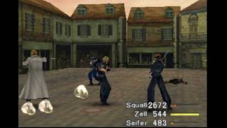 FFVIII - Level 100/All GF abilities/Punishment before Dollet