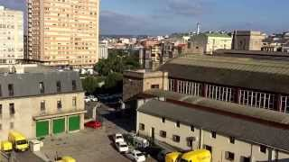 Vista desde mi apartamento en A Coruña, Galicia, España