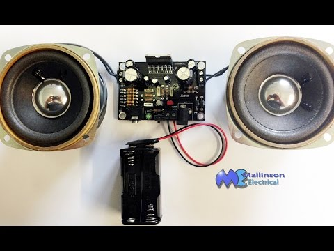 electronic project Speakers