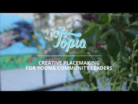 Tópio: Creative Placemaking for Young Community Leaders