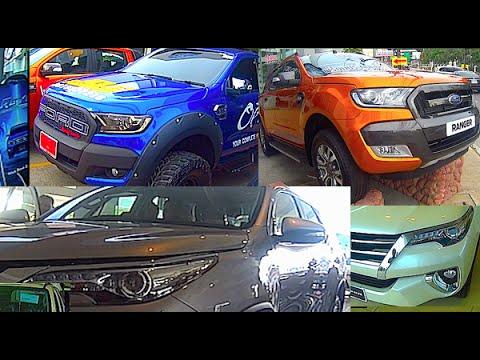 New Toyota Fortuner 2015, 2016 -  Ford Ranger 2015, 2016 - Hilux Revo 2015, 2016