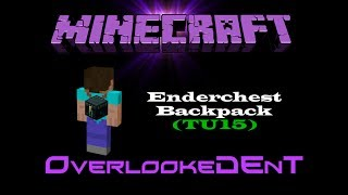 Enderchest Backpack - Minecraft Xbox 360/PS3 - [Tutorial]