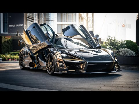 $1.5M Full Carbon McLaren Senna delivery in London!!