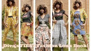 African Inspired Fashion Look Book
