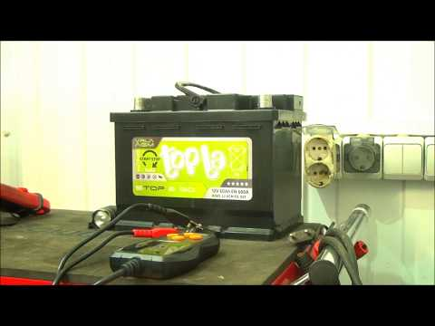 100% заряд AGM аккумулятора .