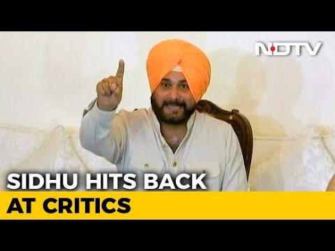 Navjot Singh Sidhu Defends His Controversial Pak Visit