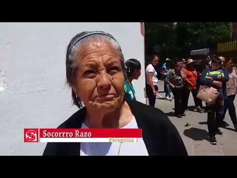 Peregrinos visitan como cada año al Cristo Negro de Salamanca
