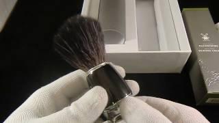 Подарочный набор для бритья MUEHLE, крем для бритья, черный помазок RYTMO с ворсом из фибры(, 2017-02-14T09:36:23.000Z)
