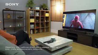 Як налаштувати 3.1-канальний саундбар HT-ZF9 Dolby Atmos від Sony
