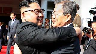 """الزعيمان الكوريان يلتقيان لإحياء المساعي بإقامة قمة """"كيم وترامب"""" الشائكة…"""
