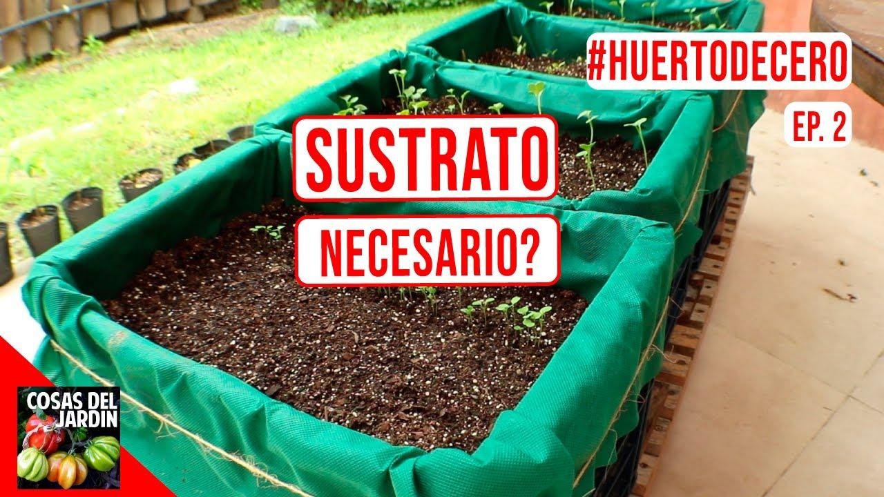 SUSTRATO PARA MACETAS - 3 ALTERNATIVAS  - [CUAL ES MEJOR?] #HUERTODECERO EP.2