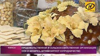 Беларусь и ФАО планируют сотрудничать в сфере обеспечения качества продуктов