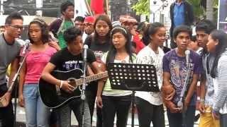 Komposo mula sa mga Anak ng biktima sa Demolition_AnakBayan Lugait, Misamis Oriental